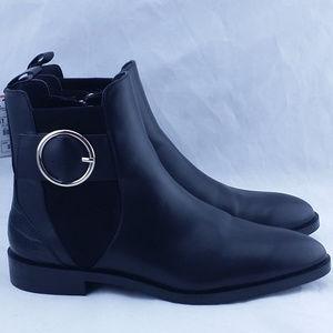 Zara Black Ankle Boot SZ 10